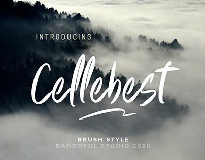 Cellebest Brush Font