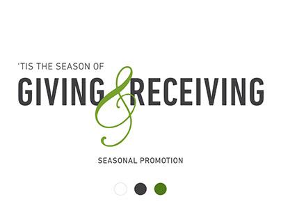 Season of Giving Seasonal Promotion