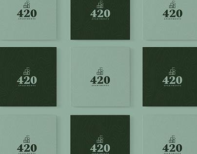 420 Apartments Branding