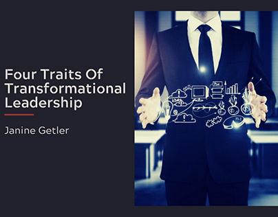 Four Traits of Transformational Leadership
