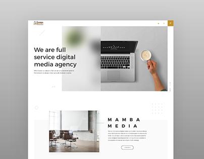 Mamba Media | Web design