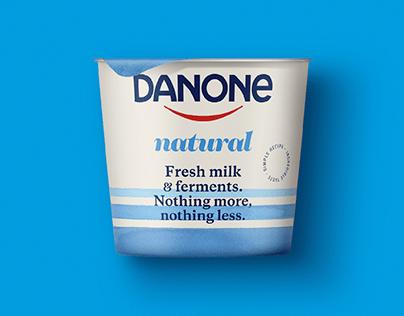 DANONE 's global packaging visual system