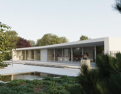 Villa Spee 3D Reproduction