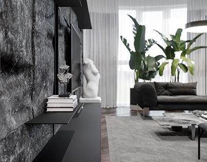 Moon apartment
