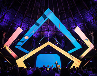 Stage Design & Video Content - B2B Event, Gashouder.