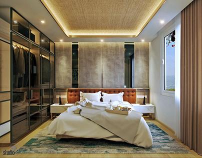 Modern Luxury Bed Room
