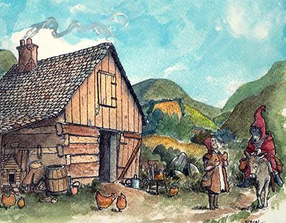 The Little Farmhouse.