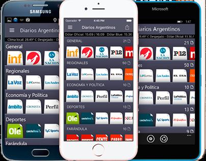 Newspapers Mobile App