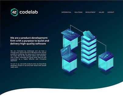 42 codelab - web ui