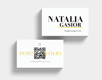 Self promotional item - portfolio in a business card