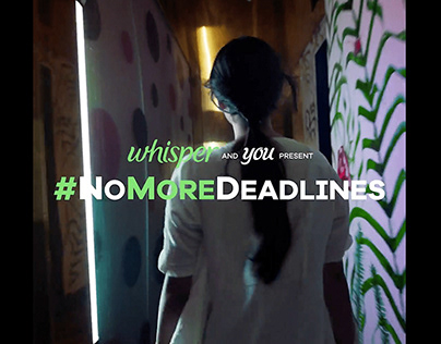 Whisper | #NoMoreDeadlines | Commercial