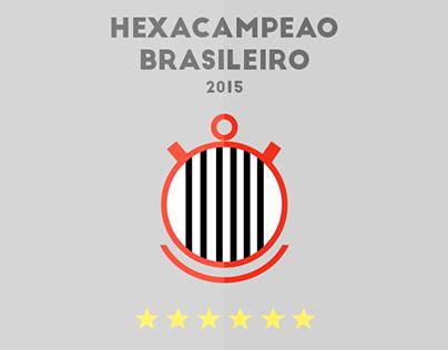 Corinthians - HEXACAMPEAO Brasileiro