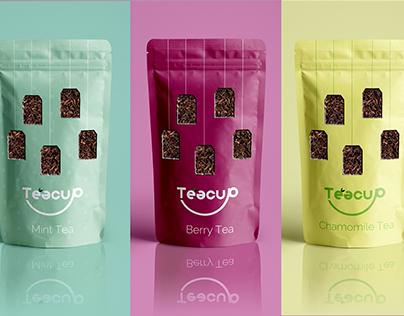 Teacup - Logo Rebrand & Packaging Design