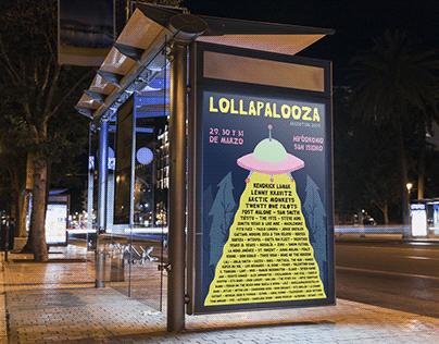Poster Lollapalloza Argentinta 2019