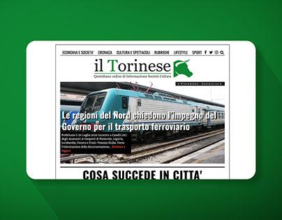 Website for Italian news magazine