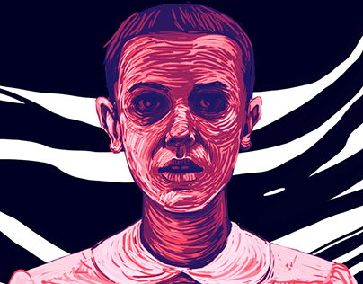 Eleven..Stranger Things fan art