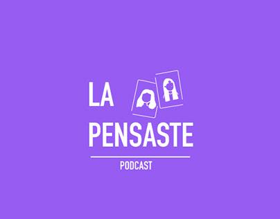 Social media design: La Pensaste Podcast