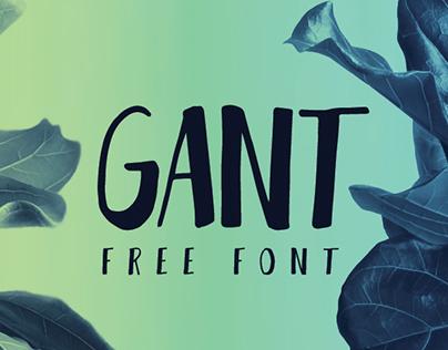 GANT FREE FONT