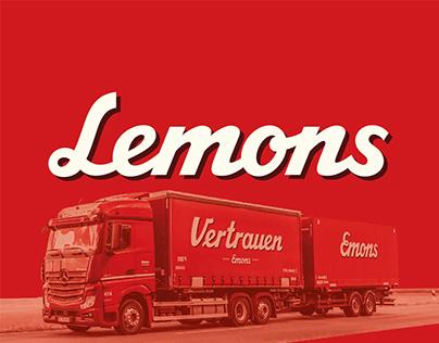 Lemons - A Custom Typeface for Emons