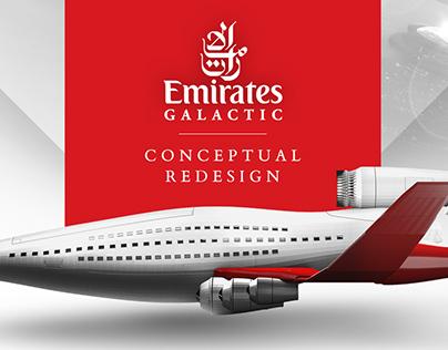 Creative Exercise - Emirates Conceptual Re-design