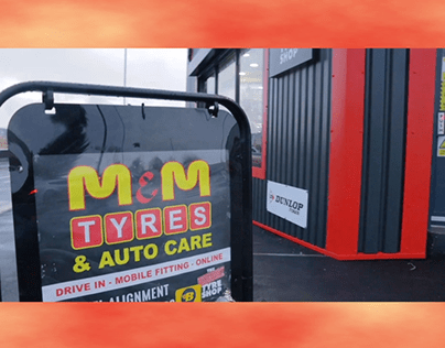 M and M tyres promo video