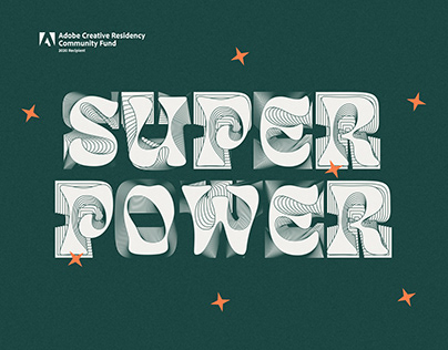 Discover your Typographic Superpower — Fontpack Artwork