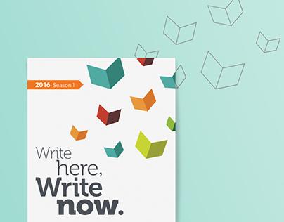 Write Here, Write Now.