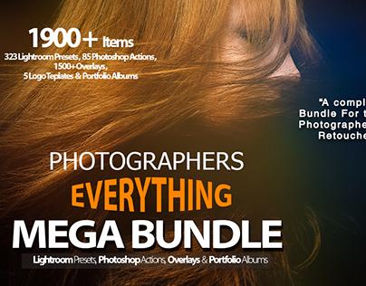Photographers Everything Mega Bundle
