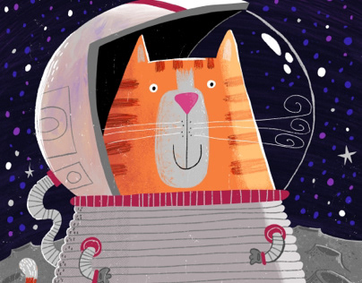 Space Astronaut Kitty