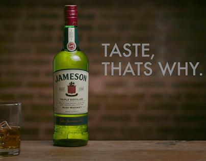 Jameson Spec Social Media Ad: Taste. Thats Why