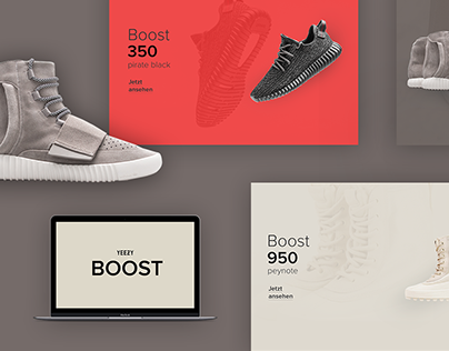 "Adidas ""Yeezy Boost"" Web Concept"