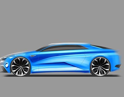 Volkswagen Midsize Fastback Concept
