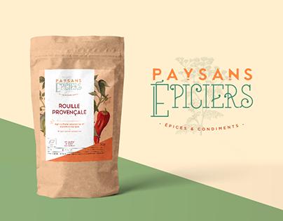 Paysans Épiciers - Brand Identity & Packaging