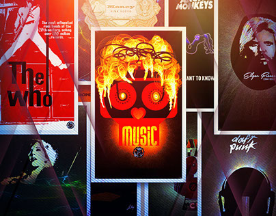Posters on Music, 2015
