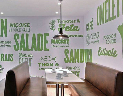 MURAL | Green traiteur & café