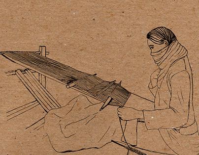 Nagaland's Loin Loom Weaving: Illustrated