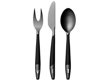 Cutlery Sculpture