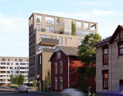 Residential development in Oslo, Norway