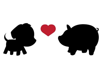 PigDog: A Branded Wedding (my wedding)
