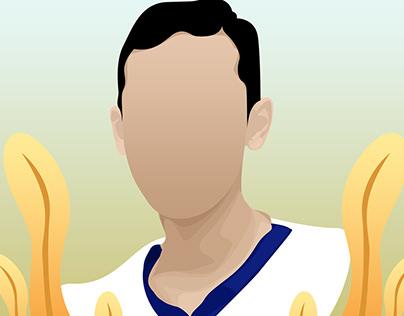 Player basketball
