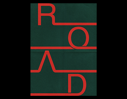 ROAD – Blank Poster