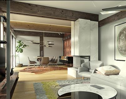 Interior design for Huf Haus _ CGI