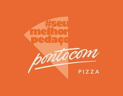 Linguagem visual e verbal - Pontocom Pizza