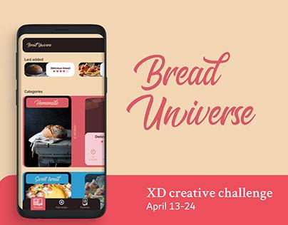 Bread Universe | XD crearive Challenge
