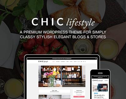CHIC Lifestyle Blog and WooCommerce WordPress Theme