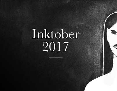 Inktober 2017 - illustration