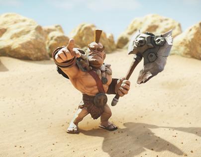 Dwarf - Progress animation