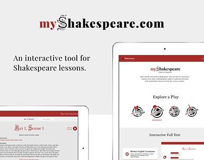 myShakespeare.com