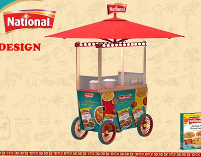national food cart