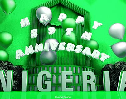Nigeria @ 59